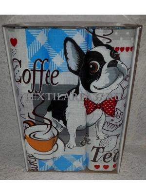 Набор вафельных полотенец подарочный «Год Собаки N13»