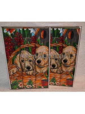 Набор вафельных полотенец подарочный «Год Собаки N22»