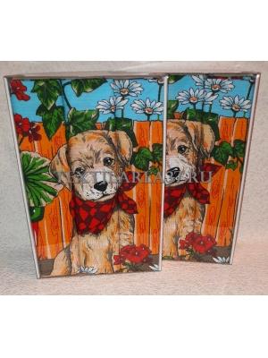 Набор вафельных полотенец подарочный «Год Собаки N26»