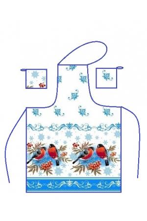 """""""Набор вафельный «Фартук,   2 прихватки» год 2020-4 цвета в ассортименте)"""