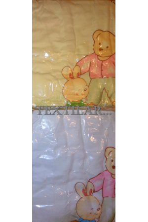 Полотенце для купания с капюшоном (лен+махра) 110*110 см