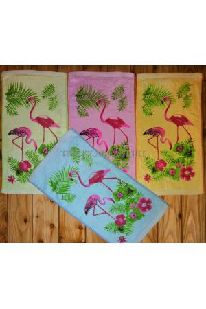 """Полотенце махровое """"Фламинго"""" 25*50"""