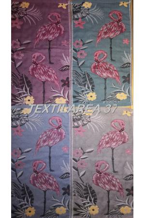 """Полотенце """" Фламинго стежка"""" вид 3 25*50 (лен+хлопок)"""