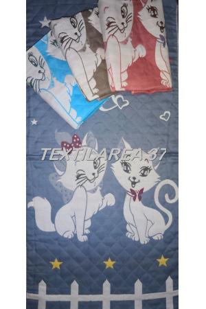 """Полотенце """"Кошки"""" цветные вид 3 50*100 (лен+хлопок)"""