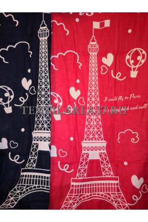 "Полотенце ""Париж"" 70*140 (лен+хлопок)"