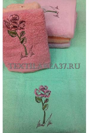 """Полотенце махровое """"Роза"""" 70*140"""