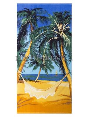 "Полотенце пляжное ""Пляж"" вид 3"