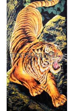"""Полотенце пляжное """"Тигр"""" вид 11"""