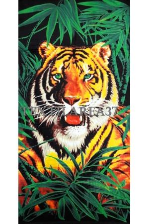 """Полотенце пляжное """"Тигр"""" вид 9"""