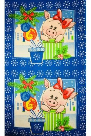 """Полотенце вафельное кухонное  35*61 """"Новогоднее 13"""""""