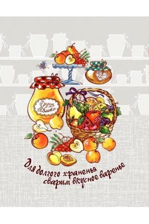 """ Полотенце вафельное кухонное ""Джем"" 3"
