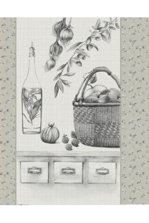 !Полотенце рогожка кухонное