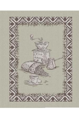 """Полотенце рогожка кухонное """"Льняные мотивы"""" вид 3"""