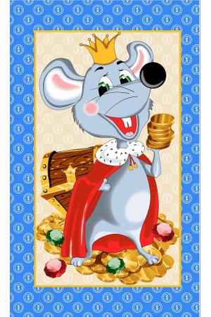 """Полотенце вафельное кухонное """"Мышки"""" вид 29"""
