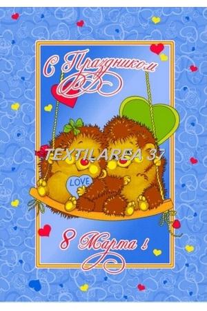 "Полотенце вафельное ""8 МАРТА MR23"""