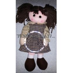 """Полотенцедержатель """"Кукла большая коричневая"""""""