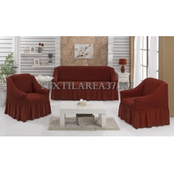 Чехол на диван + 2 кресла (3 предмета) 21