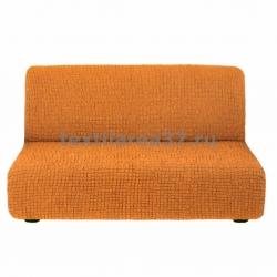 Чехол на трехместный диван без подлокотников 15 (бронзовый)