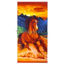 """Полотенце пляжное """"Лошадь"""""""