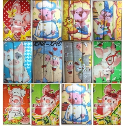 Набор вафельных полотенец подарочный «Год 2019 АССОРТИ»
