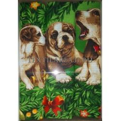 Набор вафельных полотенец подарочный «Год Собаки N18»