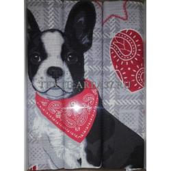 Набор вафельных полотенец подарочный «Год Собаки N29»