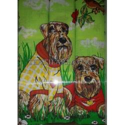 Набор вафельных полотенец подарочный «Год Собаки N30»