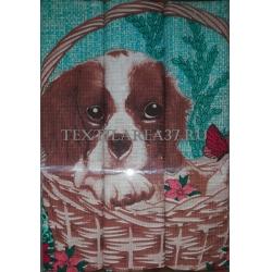 Набор вафельных полотенец подарочный «Год Собаки N31»