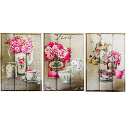 Набор вафельных полотенец подарочный «Прованс-ассорти»