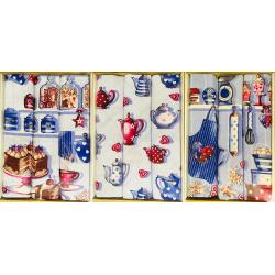 Набор вафельных полотенец подарочный «Тирамису-ассорти»