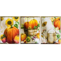Набор вафельных полотенец подарочный «Урожай-ассорти»
