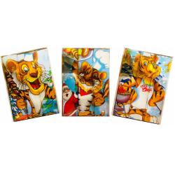 Набор вафельных полотенец подарочный «Год 2022 тигр» 3