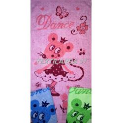 Полотенце махровое цветной велюр