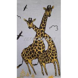 """Полотенце """"Жирафы"""" 36*36 (лен+хлопок)"""