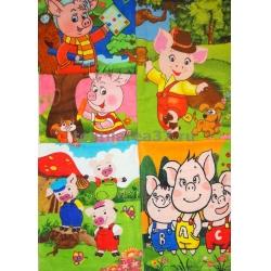 """Полотенце махровое """"Свинки"""" 35*60"""