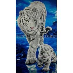 """Полотенце пляжное """"Тигр"""" вид 10"""