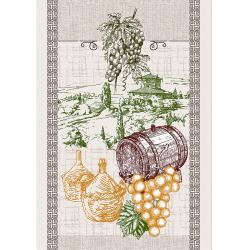 Полотенце рогожка кухонное 43-61
