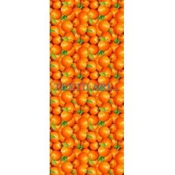 """Скатерть рогожка """"Апельсины"""" 120 х 150 см"""